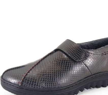 兰牧皮草 男鞋 皮鞋 户外休闲鞋 批发皮鞋真皮 蛇皮纹鞋1031-2