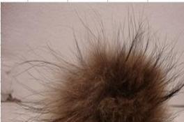 优质裘皮围巾狐狸毛围巾 貂毛围巾兔毛条0.5