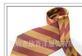 供应南韩丝领带/正装领带/加LOG定做/深圳欣百洋职业装批发生产