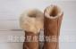 供应澳洲羊皮皮毛一体儿童雪地靴 舒适柔软 皮毛制品童鞋