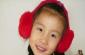 2010款可调节兔毛皮草儿童耳套,大人也有带,多色!厂家直销