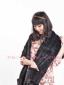 2011时尚水貂披肩,编织围巾皮草围巾