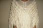 獭兔毛皮草披肩!纯洁白色!冬季婚纱披肩!