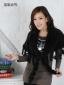 2011韩版水貂编织小披肩。皮草小披肩裘皮披肩